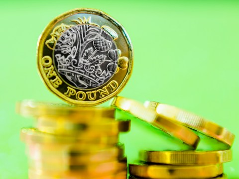 What does a run on the pound mean?