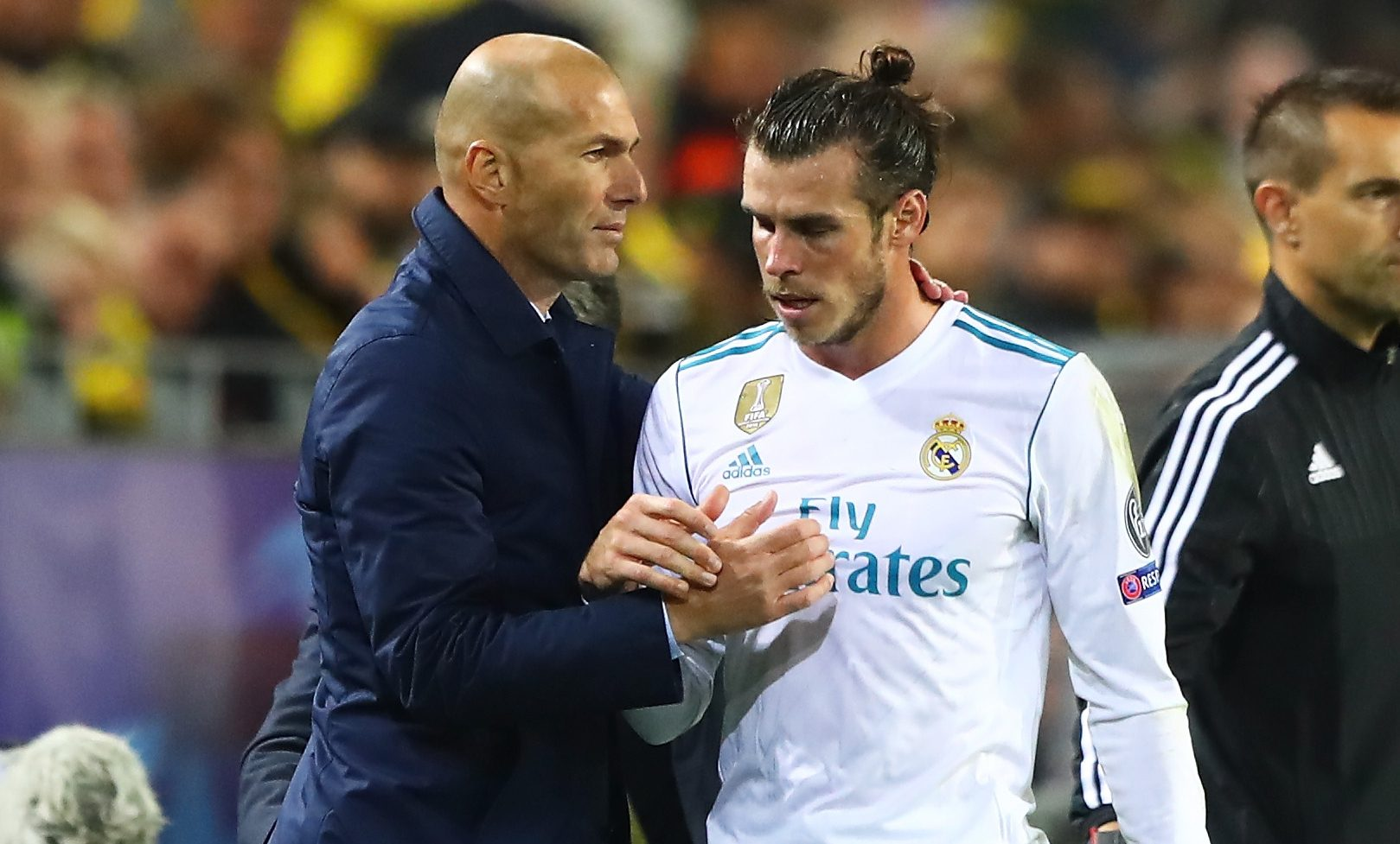 Gareth Bale the only Real Madrid player to snub Zinedine Zidane on social media