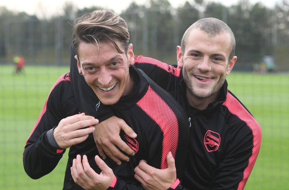 Mesut Ozil advises Jack Wilshere over Fenerbahce transfer after Arsenal exit