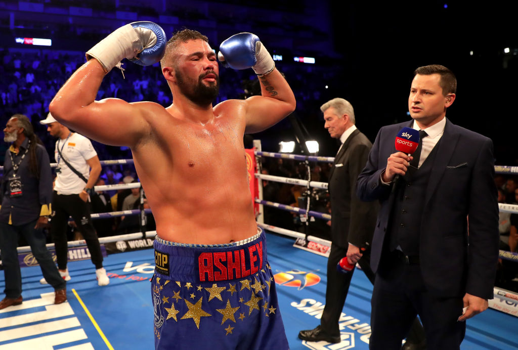 Tony Bellew must be vintage Bomber to stop Oleksandr Usyk