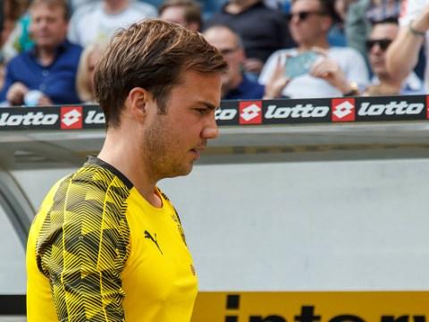 Tottenham Hotspur monitoring future of Mario Gotze
