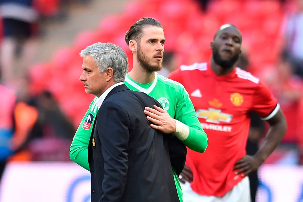 Jose Mourinho sent text message to Manchester United star David de Gea ahead of key World Cup decision