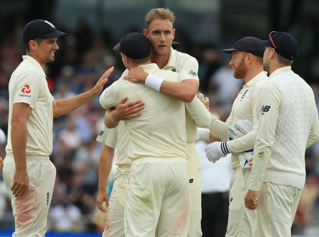 Michael Vaughan's criticism of England bowler Stuart Broad 'unfair', says Alastair Cook