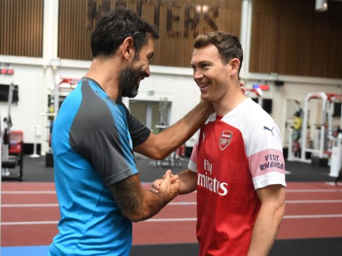 Stephan Lichsteiner compares Arsenal's project under Unai Emery to Juventus' seven straight titles