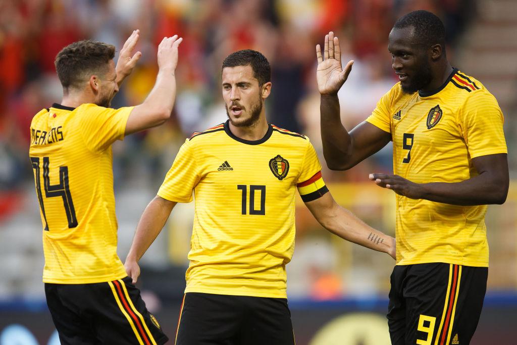 England receive boost as Belgium's Eden Hazard goes off with injury