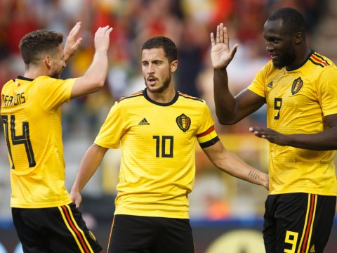 England receive boost as Belgium's Eden Hazard goes off with injury