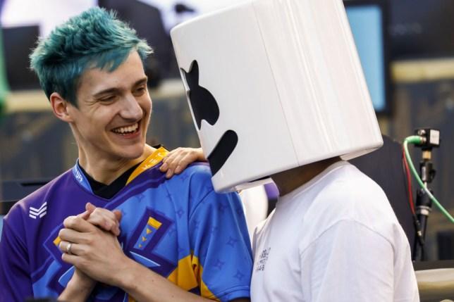 Ninja And Marshmello Win Epics Fortnite Celebrity Pro Am
