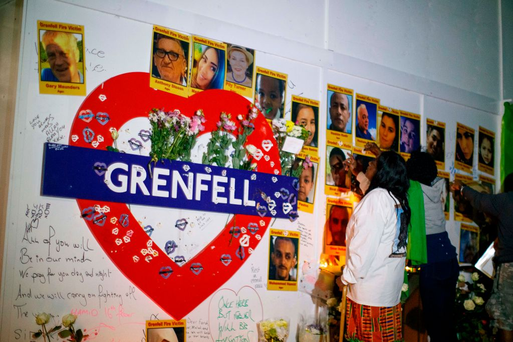 What time is the Grenfell Tower fire anniversary minute's silence?