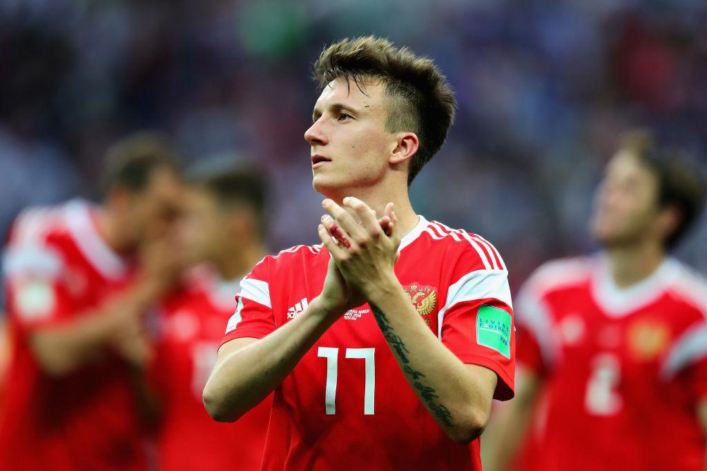 Manchester United target Aleksandr Golovin flattered by Juventus interest