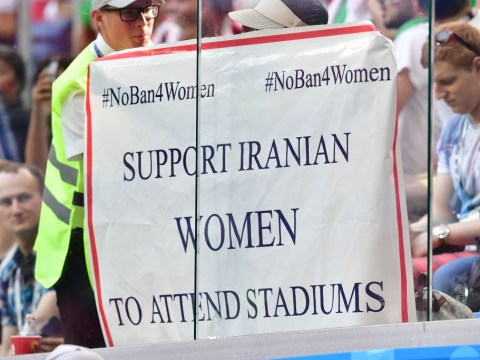 As an Iranian woman I'm not allowed to watch live football – this has to change