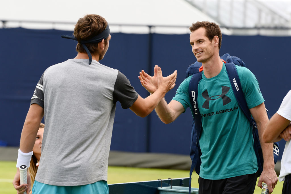 Cameron Norrie gives insight into Andy Murray's level after Queen's practice match