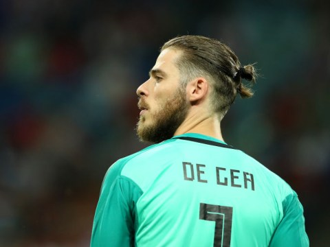 Jose Mourinho reacts to David de Gea mistake in Spain's World Cup draw with Portugal