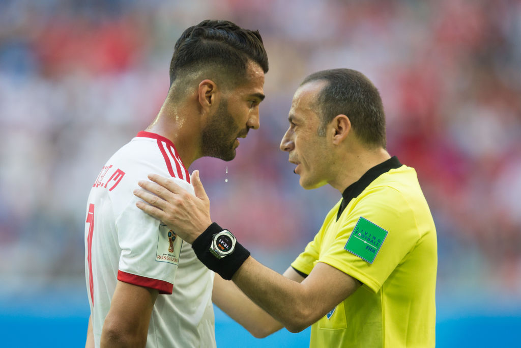Why are there no English referees at the World Cup?