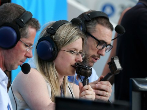 All you need to know about female commentator Vicki Sparks and how she got to the World Cup