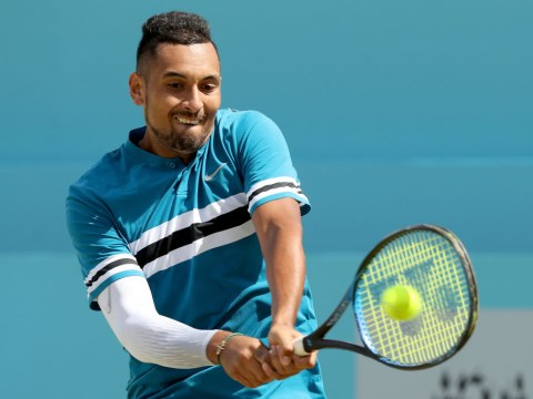 Nick Kyrgios sends warning to Roger Federer and Wimbledon field after Kyle Edmund win