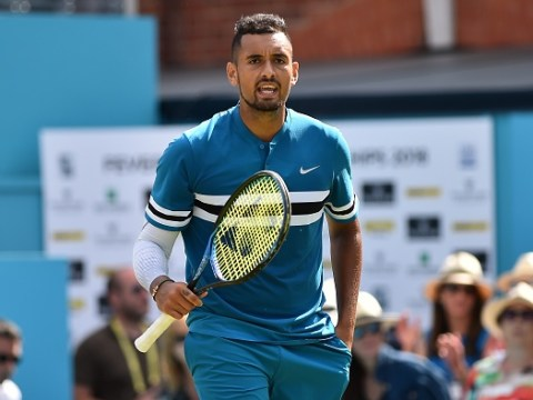 Nick Kyrgios in heated exchange over on-court swearing