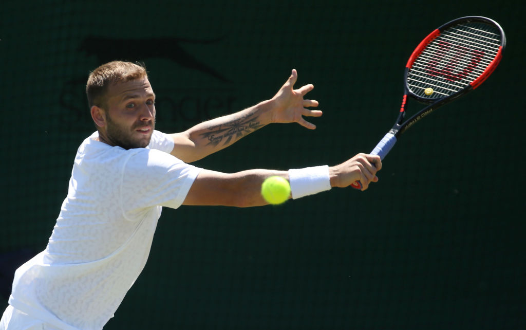 Dan Evans continues Wimbledon quest with impressive first qualifying win