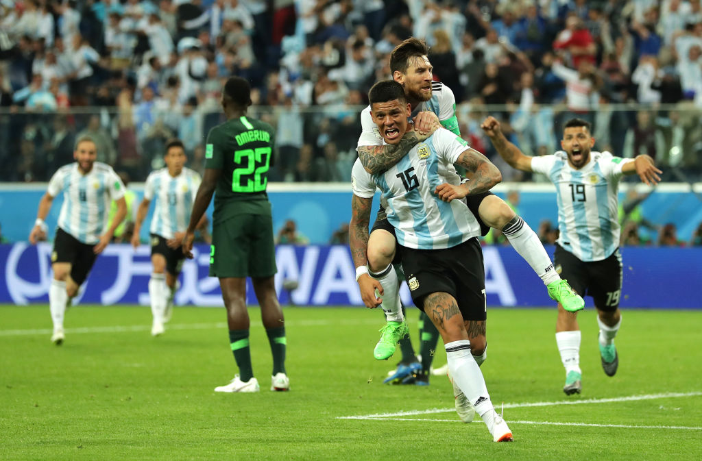 Marcos Rojo saves Argentina and Lionel Messi's World Cup dream