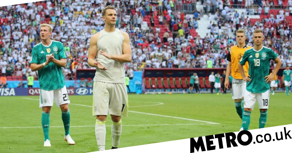 07424c3fc33 Manuel Neuer branded a 'disgrace' after Germany's shocking World Cup exit