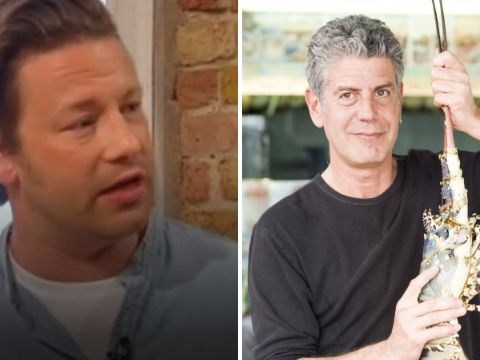 'This one is for you, brother': Jamie Oliver dedicates Saturday Kitchen recipe to Anthony Bourdain