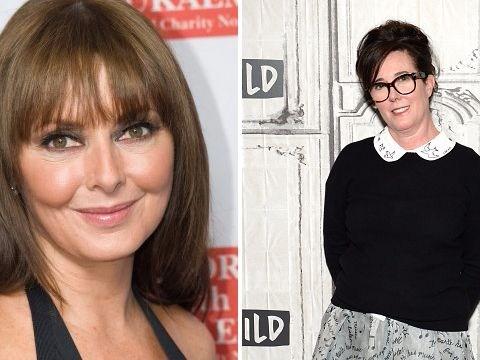 Carol Vorderman says she had 'similar feelings' as Kate Spade as fashion designer dies by suicide