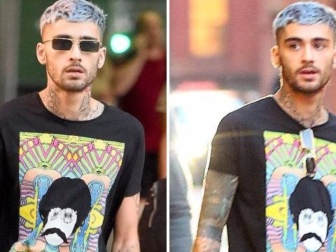 Zayn Malik unveils another new hairdo as he leaves Gigi Hadid's flat – and we love it