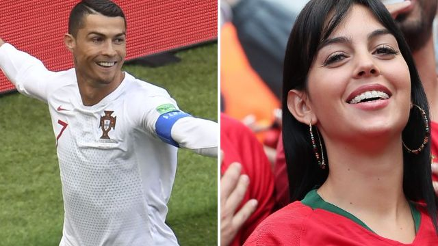 Cristiano Ronaldo has ultimate cheerleader as girlfriend Georgina Rodriquez claps from stands as Portugal beat Morocco at World Cup