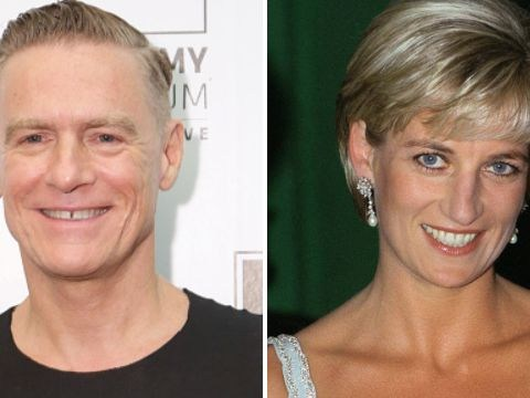 Bryan Adams denies he was anything but 'good friends' with Princess Diana