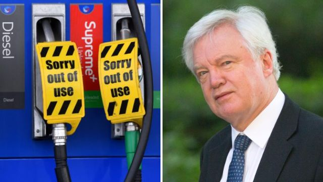 We could run out of food and petrol if we leave EU without a deal