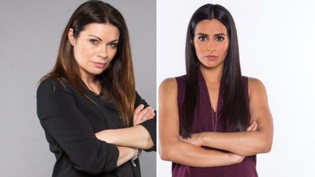 Carla and Alya clash in Coronation Street