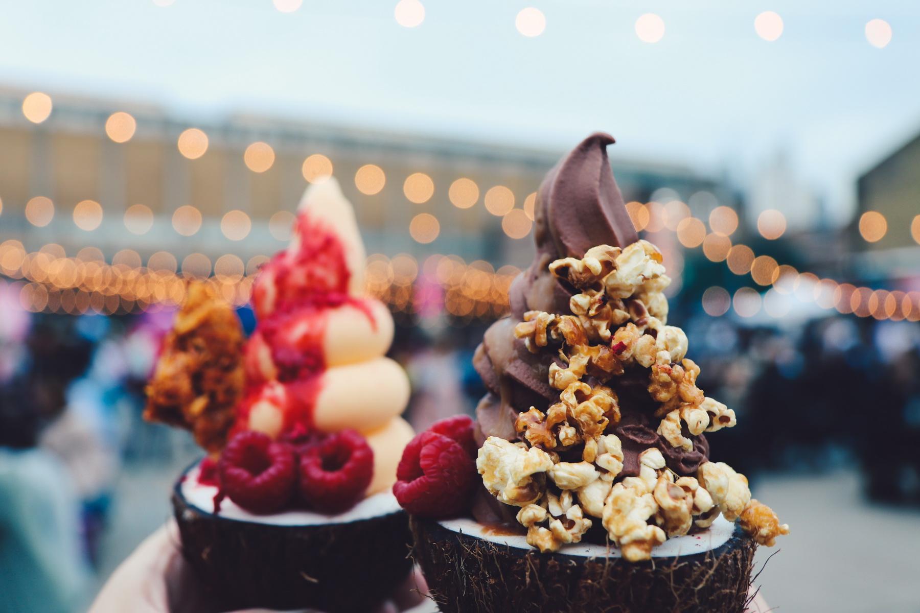 Plant-based ice cream at Vegan Nights