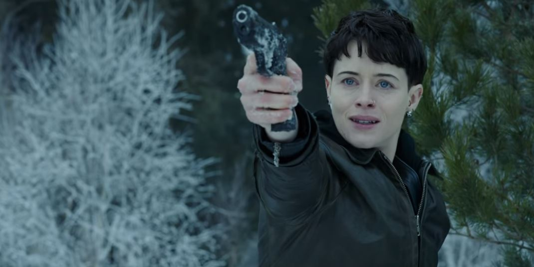 Claire Foy in the eerie first trailer of The Girl in the Spider's Web is everything we need right now