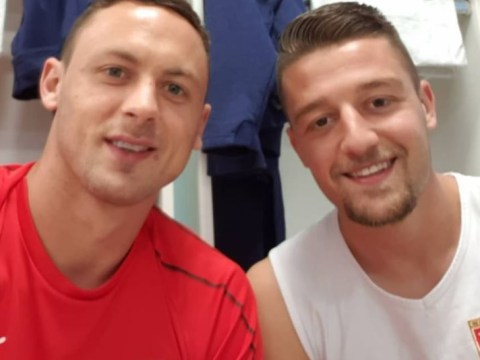 Manchester United star Nemanja Matic drops subtle Sergej Milinkovic-Savic hint on Instagram