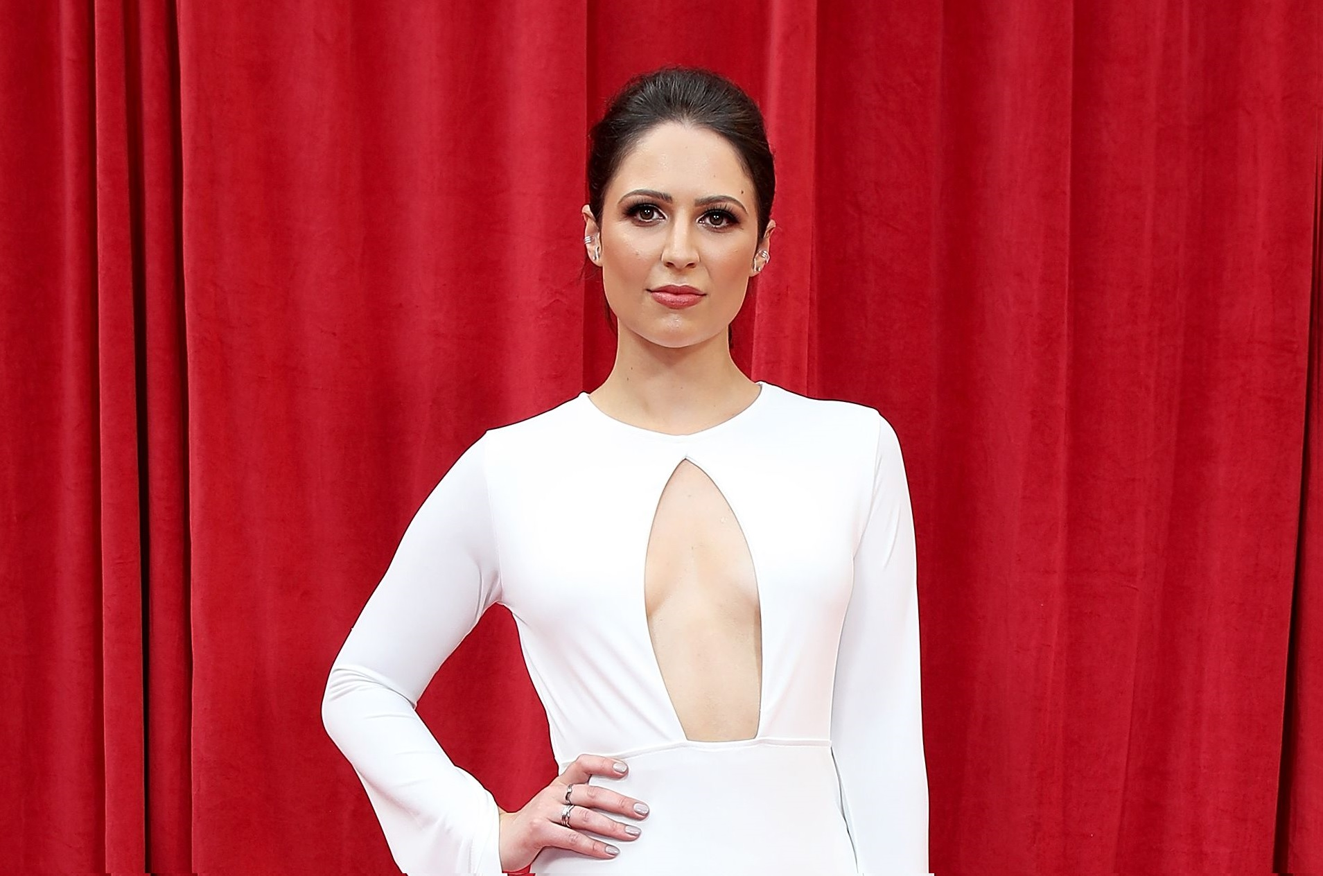 Nicola Thorp at the British Soap Awards 2018