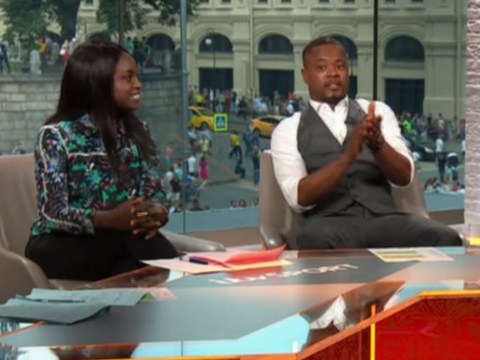 Patrice Evra slammed for 'patronising' Eni Aluko during ITV's live World Cup coverage