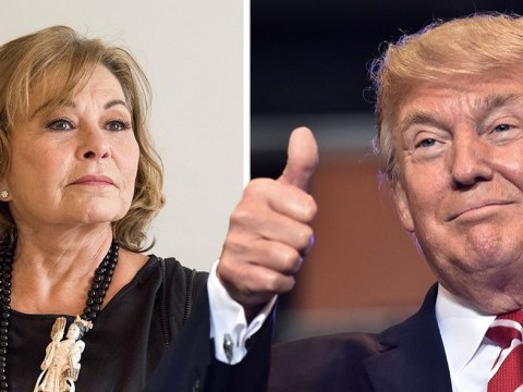 What did Roseanne Barr say about Donald Trump?