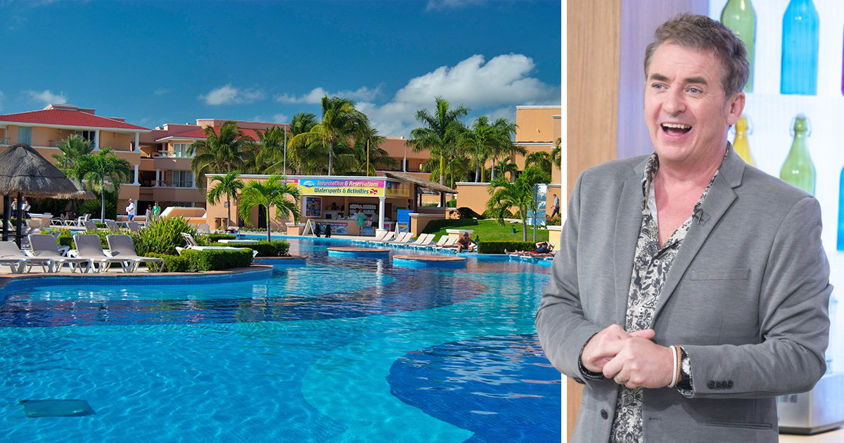 Shane Richie is suing Thomas Cook after going on 'a holiday from hell' at Moon Palace