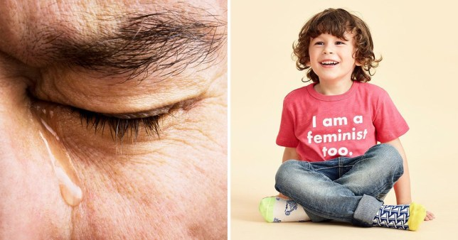 People aren't happy with J Crew for selling a feminist boys' tee