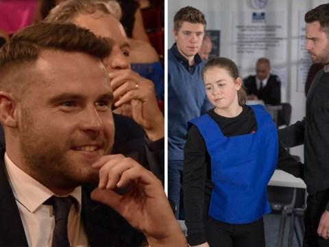 Danny Miller's joyful reaction to Emmerdale co-star Isobel Steele's British Soap Awards win will melt your heart