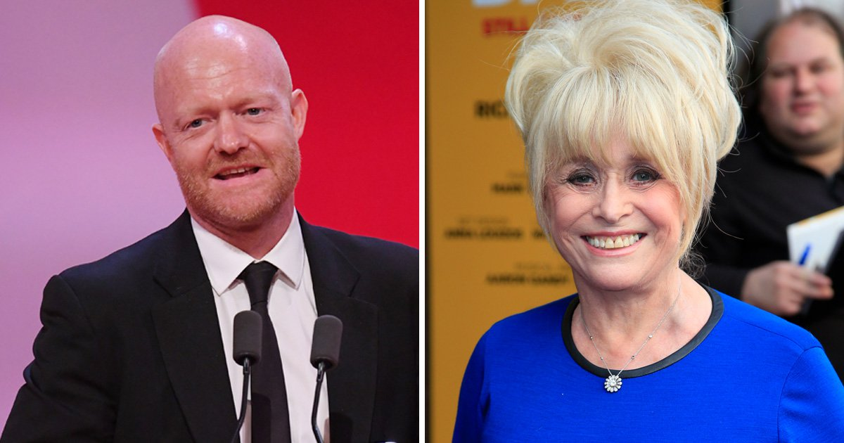 Fans left emotional as EastEnders Jake Wood dedicates British Soap Award to Barbara Windsor