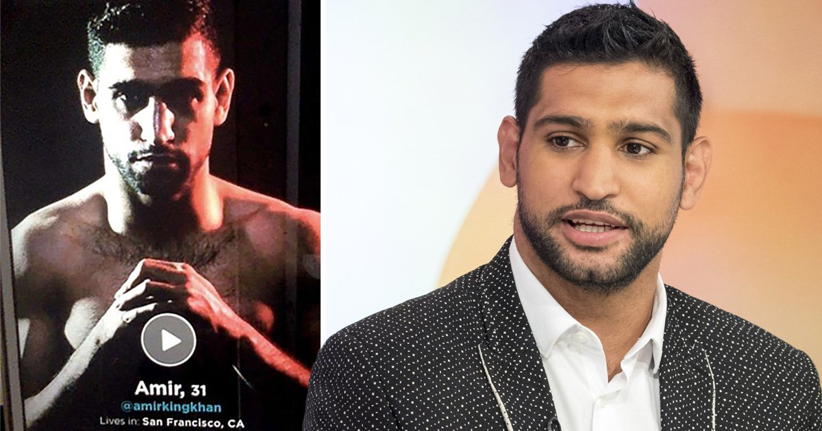 Amir Khan spotted on dating app days after denying he cheated on wife