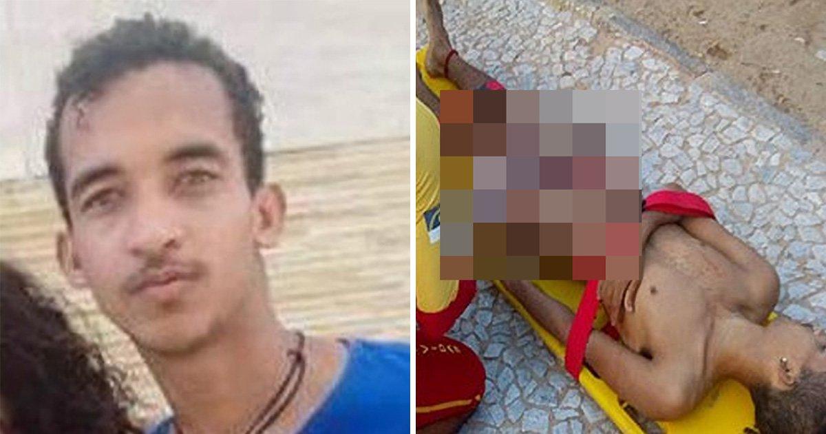 Teenager has penis 'bitten off' in shark attack close to shoreline