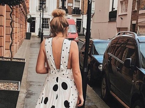 Topshop's polka dot dress is unavailable but here's where you can get equally gorgeous ones