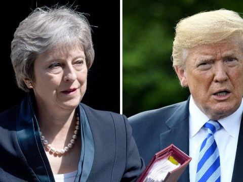Theresa May calls Donald Trump to say his steel tariffs are 'unjustified'