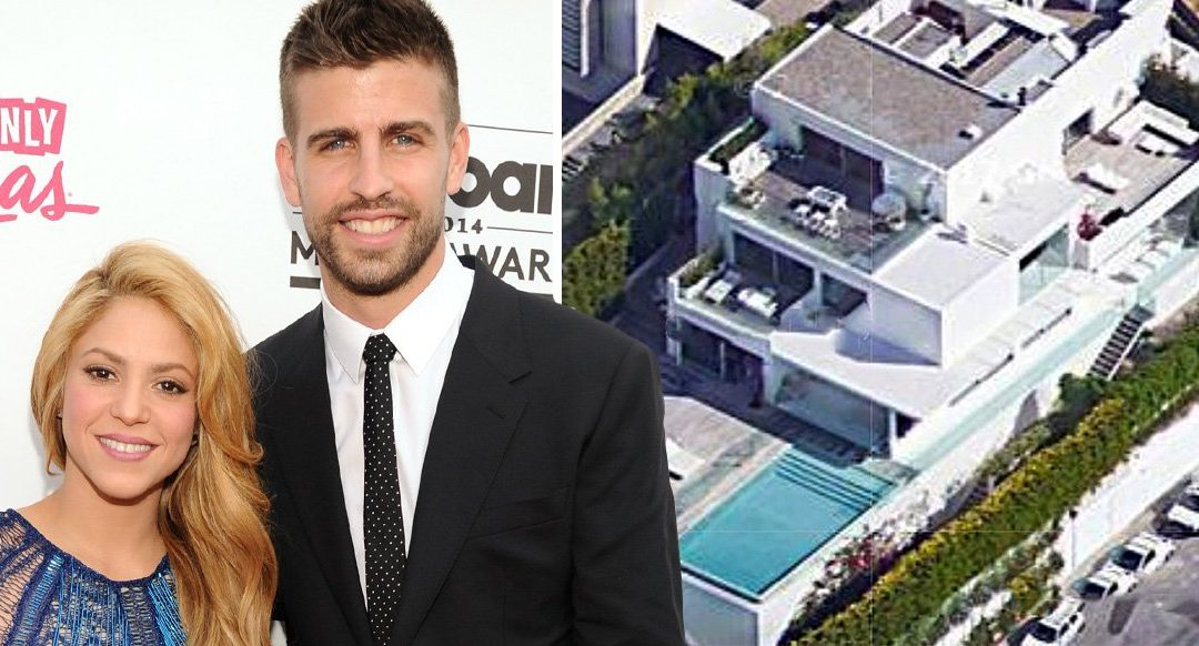 Burglars raid Shakira and Gerard Pique's mansion as his parents sleep upstairs