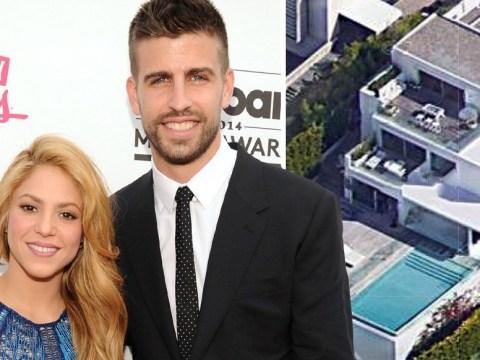 Burglars raid Shakira and Gerard Pique's mansion as his parents sleep upstairs