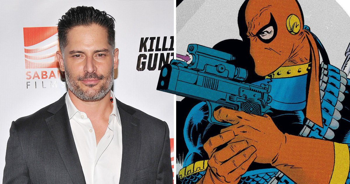 Joe Manganiello posing with a Deathstroke mask has our hopes high that rumoured movie is coming soon