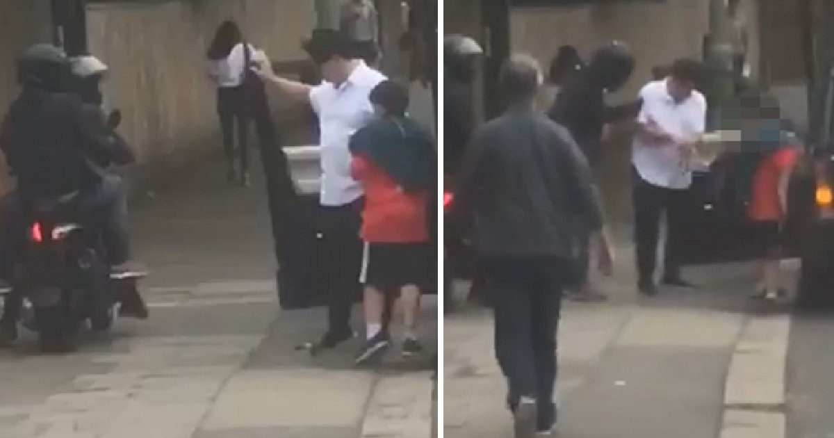 Video of moment Michael McIntyre was robbed of £15,000 watch before protecting son