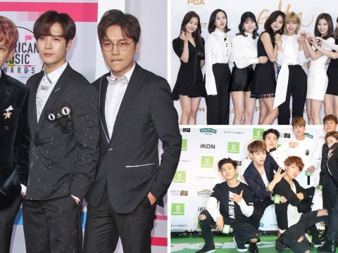 K-pop bands EXO-CBX, iKON and TWICE just went platinum