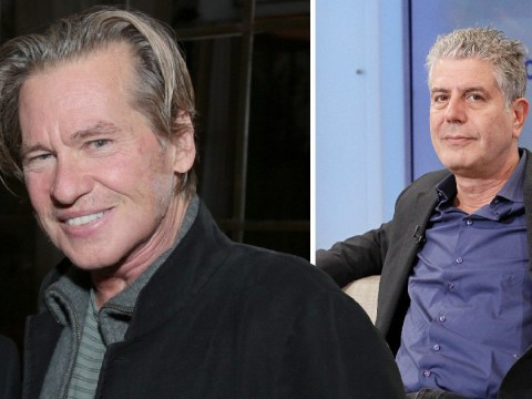 Val Kilmer criticised for claiming Anthony Bourdain was 'so selfish' for taking his own life
